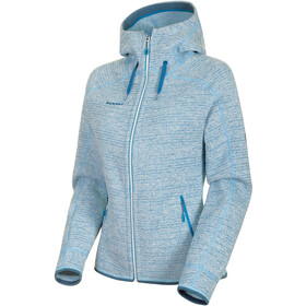 Mammut Arctic ML Hooded Jacket Damen bright white-sapphire melange